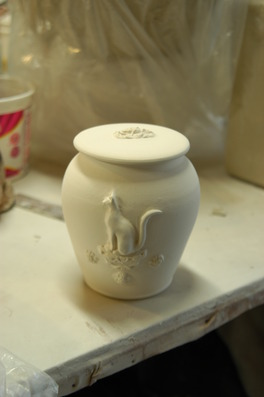 Custom Handmade Ceramic Urn