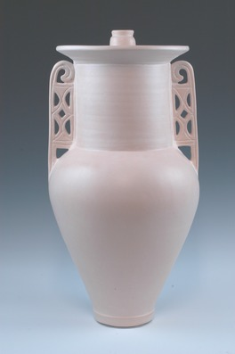 hand thrown ceramic earthenware cremation urns, funeral urns or funerary urns